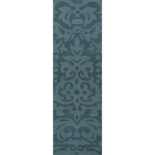 Mystique Teal Blue Rug