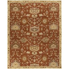 Kensington Burnt Orange Rug