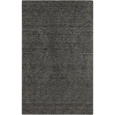 Etching Black Olive Rug