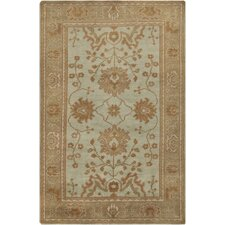 Haven Pale Aqua Green Rug