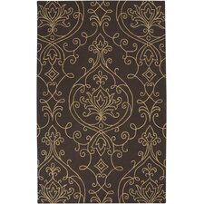 <strong>Surya</strong> Rain Dark Brown Rug