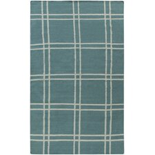 Sheffield Market Teal Green Rug