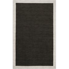 Madison Square Black Olive/Oatmeal Rug