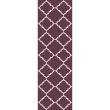 Frontier Prune Purple Rug