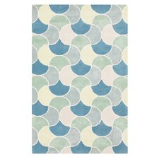 Lighthouse Jade/Ivory Rug
