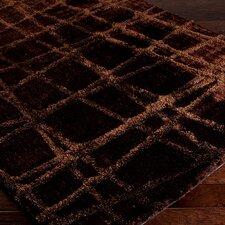 Graph Dark Chocolate/Brown Geometric Area Rug