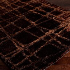 Graph Dark Chocolate / Brown Rug