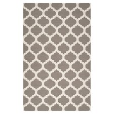 Frontier Taupe & White Area Rug