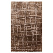 Graph Silver Cloud/Brindle Geometric Area Rug