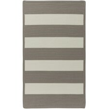 Willoughby Beige Striped Outdoor Area Rug