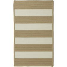 Willoughby Cream Striped Outdoor Area Rug