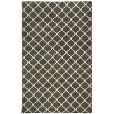 Cococozy Light Charcoal Picket Rug