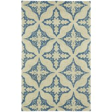 <strong>Capel Rugs</strong> Williamsburg Medium Blue Ben Medallion Rug
