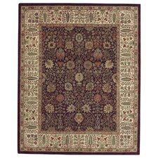 Forest Park Persian Cedars Dark Plum Rug