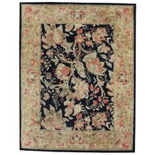 Garden Farms Ebony Floral Rug