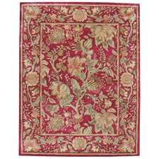 Garden Farms Red Floral Rug