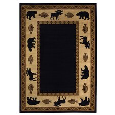 <strong>Capel Rugs</strong> Cottage Grove Ebony Novelty Rug