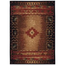 Badin Coffee Multi Indoor/Outdoor Rug
