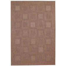 <strong>Capel Rugs</strong> Springs Medium Coffee Blocks Rug