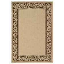 Elsinore Scroll Cocoa Bean Rug