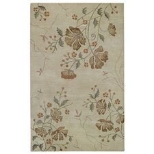 <strong>Capel Rugs</strong> Brock Haven Orchids Cream Rug
