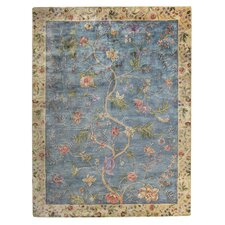Garden Farms Blue Rug