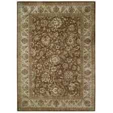 Forest Park Peshawar Chocolate Brown Rug