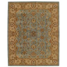 <strong>Capel Rugs</strong> Forest Park Medallions Medium Blue/Gold Rug