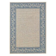 Elsinore Scroll Blue Indoor/Outdoor Rug