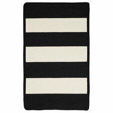 Willoughby Black/White Indoor/Outdoor Rug