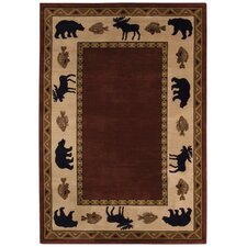 Cottage Grove Wine Novelty Rug