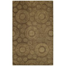 Spindles Chocolate Rug
