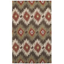Rally Green Olive Area Rug