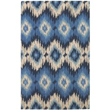 Rally Navy Area Rug
