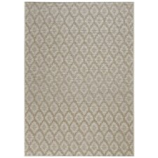 Udorn Tan Diamond Indoor/Outdoor Rug