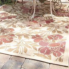 Sterling Cream Flora Indoor/Outdoor Rug
