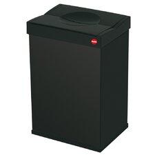 """Großraum-Abfallbox """"Big-Box"""" aus Stahlblech in Schwarz"""
