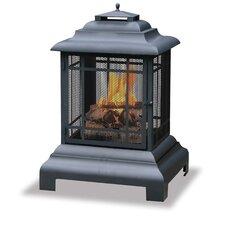 Outdoor Pagoda Fireplace