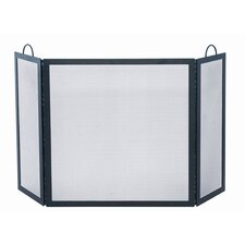 <strong>Uniflame Corporation</strong> 3 Panel Wrought Iron Medium Fireplace Screen