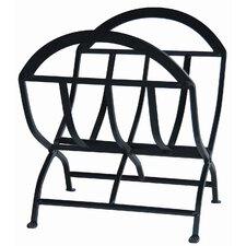 Wrought Iron Log Rack