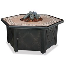 <strong>Uniflame Corporation</strong> LP Gas Fire Pit Table wi