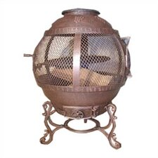 Antique Rust Cast Iron Fire Pit