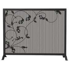 1 Panel Wrought Iron Screen