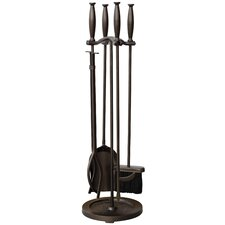<strong>Uniflame Corporation</strong> 5 Piece Fireplace Tool Set