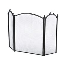 <strong>Uniflame Corporation</strong> 3 Panel Woven Mesh Fireplace Screen