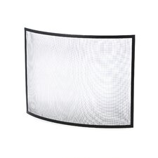 Curved Fireplace Screen