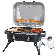 Stainless Steel LP Gas Barbeque Grill
