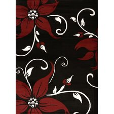Cristall Black Daiquiri Rug