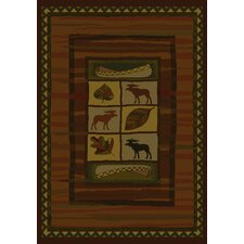 Genesis Highland Falls Lodge Novelty Rug