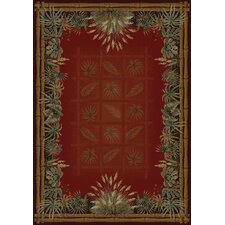 Genesis Palmetto Olefin Face Novelty Rug